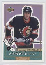 1999-00 Upper Deck Retro Gold #56 Chris Phillips Ottawa Senators Hockey Card