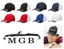 MG MGB Sports Car Classic Color Outline Design Hat Cap