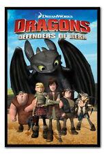 89014 Dragons Defenders Of Berk Magnetic Decor WALL PRINT POSTER CA