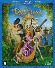 RAPUNZEL - BLU-RAY + DVD - DISNEY 50STE ANIMATIE SEALED