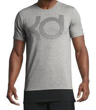 Nike Men's KD Dry Fit Aunt Pearl Grey / Black T-Shirt ( 894909-063 ) Size M/L/XL