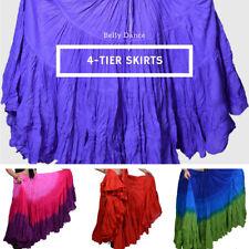 JAIPUR ATS KUCHI 25 Yard 4 Tier Belly DANCING Ren Faire Skirt U Variety Colors