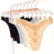 hommes gay SANS COUTURE STRING DOS EN T Sous-vêtement culotte sexy solide fin