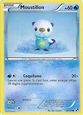 "Carte Pokemon "" MOUSTILLON "" Série Noir & Blanc  PV 60 28/114 VF"
