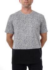 O'Neill Camiseta Verano Top Gris Colorblock 2 Cuello Redondo Lunares