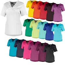 Whitewear Damen Kasacks Schlupf-Kasack Jolie Schwestern OP Pfleger-Kleidung bunt