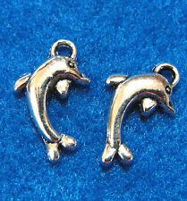 20Pcs. Tibetan Silver DOLPHIN Tibetan Charms Pendants Earring Drops OT26