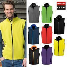 Result Core Men's Printable Softshell Bodywarmer Gilet R232M-Winters Half Jacket
