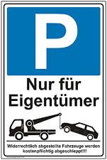 Schild Parkverbot Parkplatz Warnschild Parkverbotsschild Parken verboten P32+