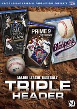 MAJOR LEAGUE BASEBALL - TRIPLE HEADER (DVD; 3-Disc Set) MLB
