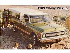 1969 Chevrolet Pickup Truck  Refrigerator  Magnet
