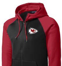 New Chiefs Full Zip Jacket Hoodie Hooded Sizes XS - 4XL Kansas City Sweatshirt