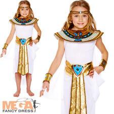 Niñas Egipcio Disfraz Histórico CHILDS DISFRAZ DE NIÑO Antigua Reina Cleopatra