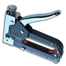 Staple Gun Upholstery Stapler plus 6 to 12mm Staples Plaster Tacker Heavy Duty