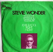 """7"""" 1969! STEVIE WONDER : Yester-Me Yester-You Yesterday"""