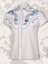 Chemises country western ref: MISS bluedina.
