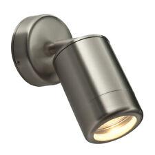 Saxby Odyssey Modern Aluminium Outdoor Spot Adjustable Downlight IP44 Wall Light