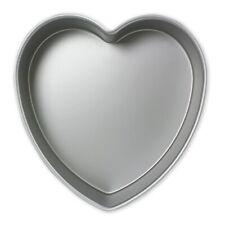 PME Moule à Gâteau en Forme de Cœur en Aluminium Anodisé, 254mmx 75mm de P...