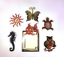 50 Stück Lesezeichen Eule Fisch Schildkröte Schmetterling Sonne Engel Seepferdch