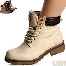 femmes travailleur bottes bottines à lacets chaussures à 1037