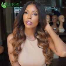 Luffy Silk Base Ombre 1B #30 Full Lace Wig Body Wave Peruvian Hair Silk Top Wig