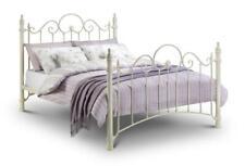 Julian Bowen Florence Victorian Style Metal Bed Frame Single Double King - White