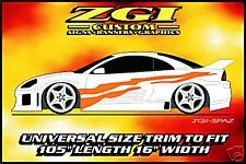 ZGI CUSTOM 1 - COLOR  AUTO SIDE GRAPHICS!!  ZGI-SPAZ