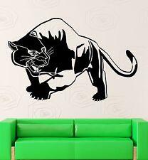 Tiger Panther Wall Stickers Predator Animal Tribal Decor Vinyl Decal (ig2361)