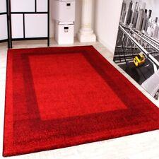 Tapis Design Moderne Tapis Velours -Winchester-  En Rouge