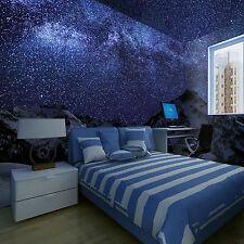 3D Der sternenhimmel Fototapeten Wandbild Fototapete Bild Tapete Familie Kinder