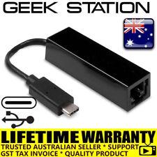 USB-C to RJ45 Ethernet LAN network Adapter 10/100 PC Laptop MacBook