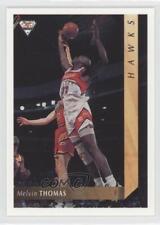 1994-95 Futera NBL #40 Melvin Thomas Illawarra Hawks Rookie Basketball Card
