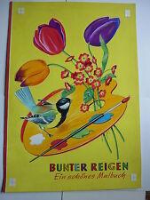 """ORIGINALZEICHNUNG Livre de coloriage """" coloré Reigen """" Titre l'Image"""