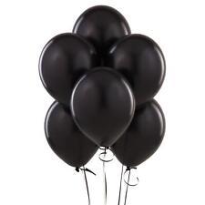 """ENTIER COULEUR NOIRE 100-5000 10"""" GRAND Anniversaire De pâques Ballon"""