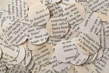 Confeti de mesa Circle Boda/Decoración-Libro/Novela/papel/Rústico/Vintage