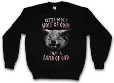 WOLF OF ODIN PULLOVER Odin Geri und Freki Thor Walhalla Wolf Wölfe Lamb Lamm
