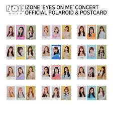 IZ*ONE IZONE - EYES ON ME Concert Official Polaroid A, B, Postcard - Member SET