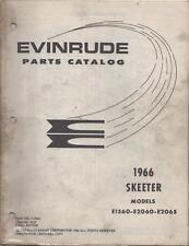1966 Evinrude Snowmobile Skeeter Parts Manual