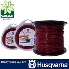 Husqvarna Round tondo bobina filo nylon Rosso per decespugliatore Ø 3,0 mm