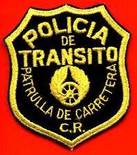 CARRRETERA PATRULLA - COSTA RICA TRANSIT POLICE PATCH