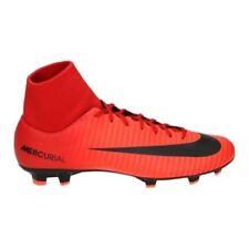 Nike Mercurial Victory VI DF FG Football Boots University903609-616 Red/Black