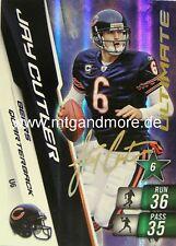 Adrenalyn XL NFL - Jay Cutler - Bears - #6 Ultimate