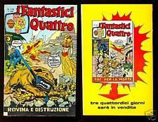 I FANTASTICI QUATTRO N° 116 - CORNO 16/9/1975