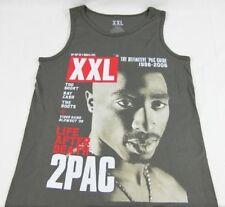 Mens NEW Tupac 2pac XXL Life After Death 1996 - 2006 T-Shirt Tank Size S M L XL