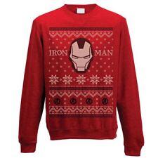 Unisex Oficial Marvel Iron Man grecas alpinas Jersey de Navidad