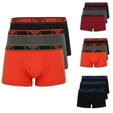 EMPORIO ARMANI 3Pack Herren Boxershorts stretch Baumwolle Unterhosen S bis XXL