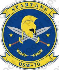 STICKER USN HSM 70 SPARTANS
