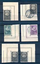 NEDERLAND 1933  6 x MEEST DOORGEPERFOREERD IN VELRAND