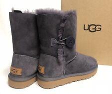 UGG Australia Bailey Button II Nightfall Purple Sheepskin Boot Women's sizes