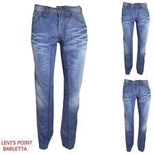 Jeans Slim Vita Bassa Energie Conelly Clash Denim Uomo Dritto Taglia W29 30 36